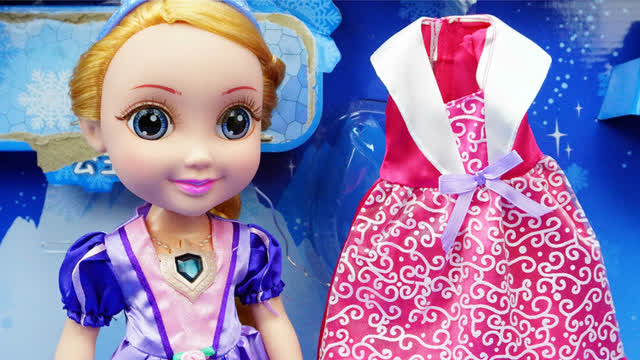冰雪奇缘 冰雪公主 迪士尼公主 玩具
