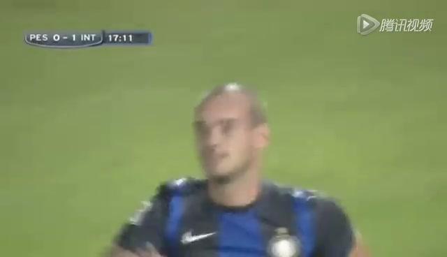 进球视频:米利托冷静横传球 斯内德轻松破门