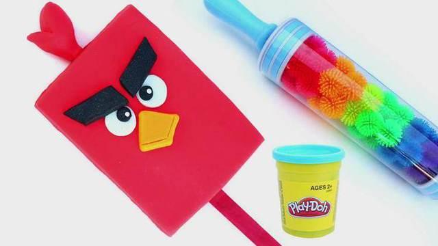 创意diy动物雪糕愤怒的小鸟彩虹米奇和小猪佩琪