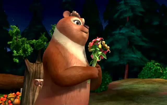 熊出没:强哥趁翠花姑娘在乔装打扮 把翠花绑走 可恶