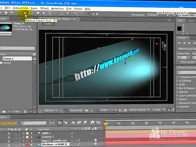 After Effects CS4 新增功能课程