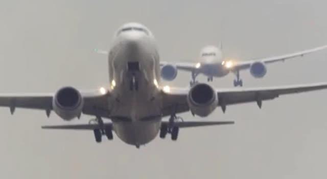 看航母飞机如何降落