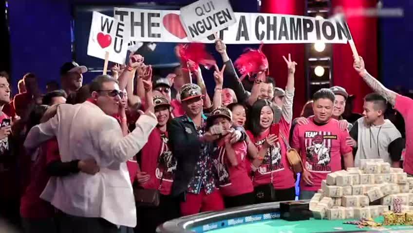昔日美甲小哥获德州扑克大赛冠军 赢得5400万现金奖