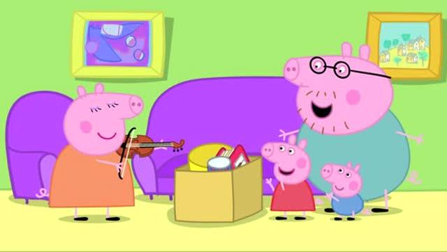 小猪佩奇 超市收银机 玩具 粉红猪小妹 小猪一家亲
