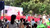 广州市番禺区东湖洲小区内提前庆祝六一儿童节活动