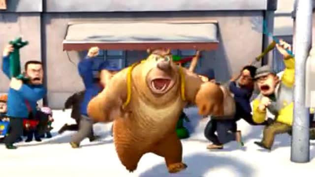 可爱熊二小时候头像