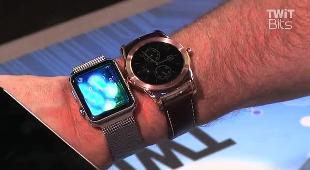 Apple Watch对比LG Watch智能手表截图