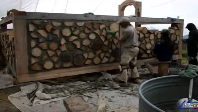 用木头桩建造的房子,一点也不比钢筋水泥差,而且好美
