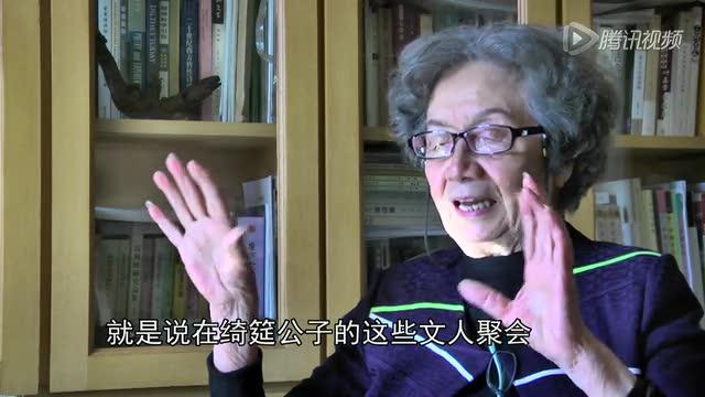 """腾讯儒学专访叶嘉莹:什么是""""弱德之美""""截图"""