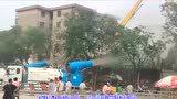临汾鼓楼南北街改造 水厂十字口两建筑楼被拆除