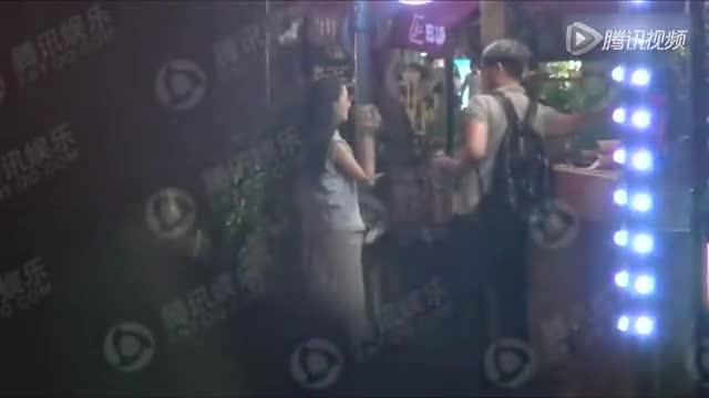 独家:佟丽娅素颜难掩女神范
