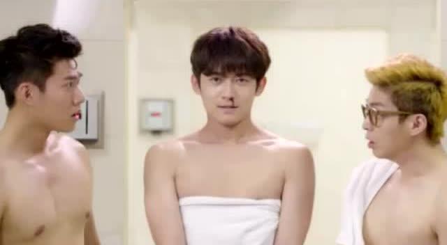 男澡堂的尴尬