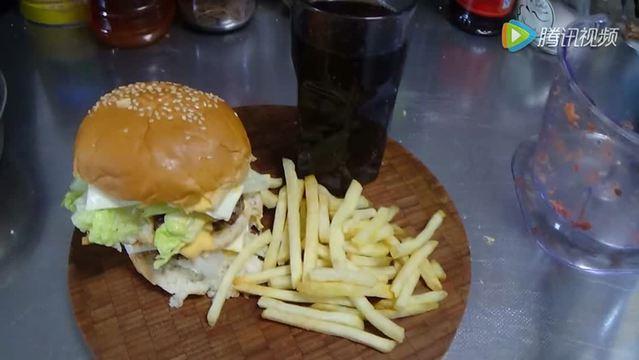 教你如何制作巨无霸汉堡