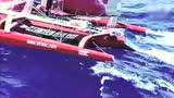 美国海岸警卫队拍到郭川帆船 船上甲板无人