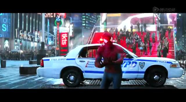 《超凡蜘蛛侠2》曝新片段 纽约时代广场沦为战场截图