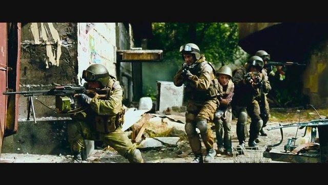 八月八日,俄罗斯在格鲁吉亚的巷战