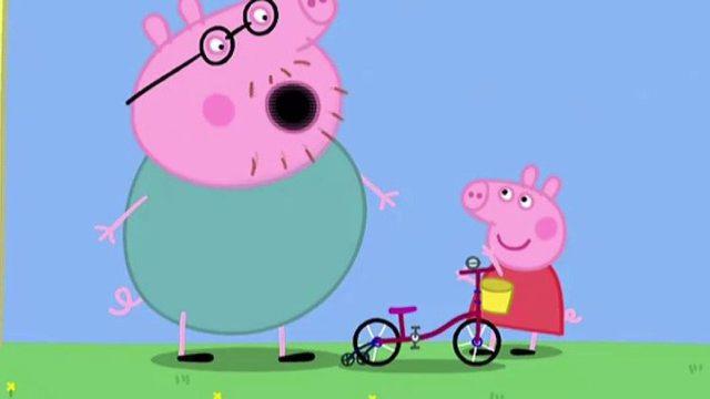 小猪佩奇想做大小孩,是真的想长大?粉红猪小妹的成长烦恼图片