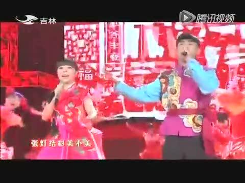 刘老师舞蹈幼儿园大班女孩舞蹈《张灯结彩》元旦舞蹈视频_腾讯视频