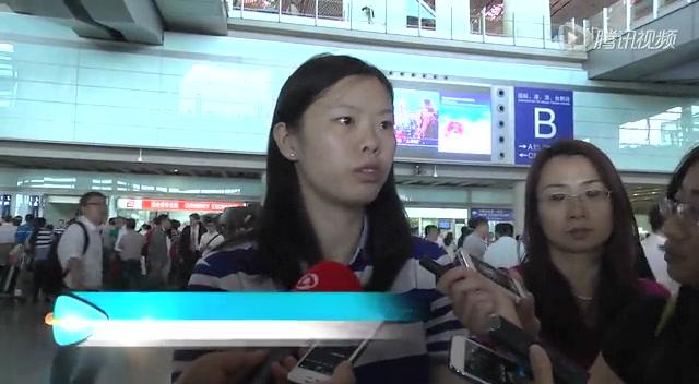 国羽回京队员仅李雪芮接受采访 自评表现很棒截图