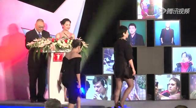 颜丙燕出席亚洲新人奖颁奖礼 《我没有生气...截图