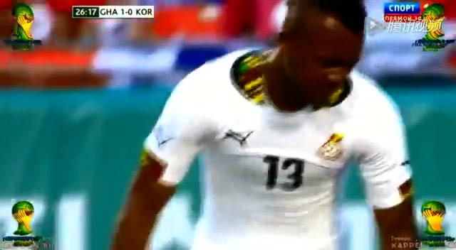 全场集锦:加纳4-0韩国 恒大铁卫首发上阵截图