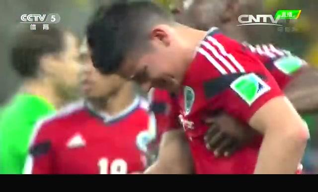 【离别】哥伦比亚遗憾落败 J罗泪洒绿茵场截图