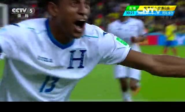 【厄瓜多尔集锦】洪都拉斯1-2厄瓜多尔 瓦伦西亚两球救主截图