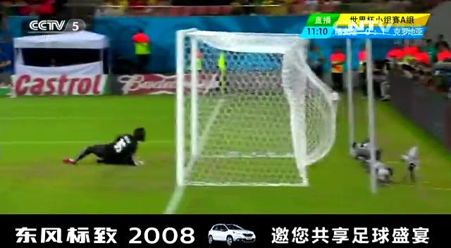 全场集锦:喀麦隆0-4克罗地亚 曼朱基奇梅开二度截图