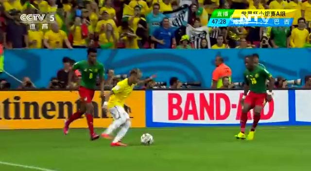 精华集锦:喀麦隆1-4巴西 内马尔2球截图