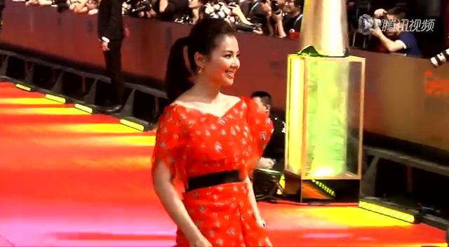 上海电影节红毯:谢霆锋 高圆圆 郭采洁 刘涛截图