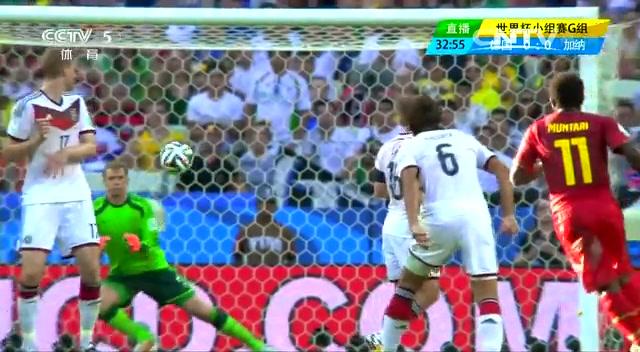 全场集锦:德国2-2加纳 克洛泽替补救主截图