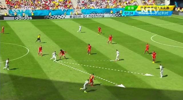 全场集锦:阿根廷1-0比利时 伊瓜因破门截图