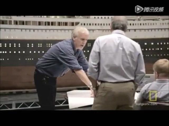 《詹姆斯·卡梅隆:再见泰坦尼克》预告片截图