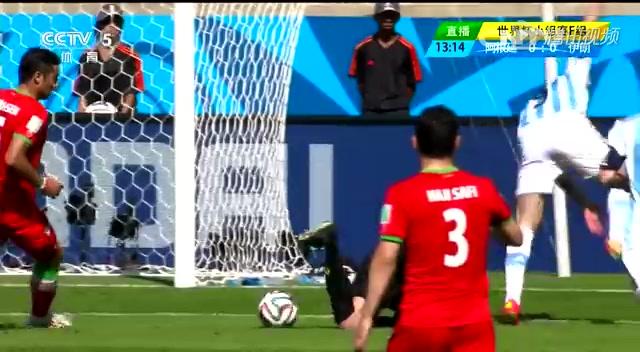 阿根廷1-0伊朗 专家详解梅西世界波截图