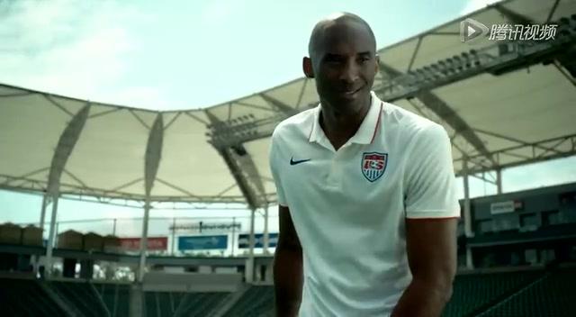 科比拍足球世界杯广告吸金 足篮合体浑然天成截图