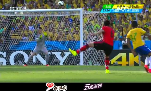 【巴西集锦】巴西0-0墨西哥 临门一脚运气欠佳截图