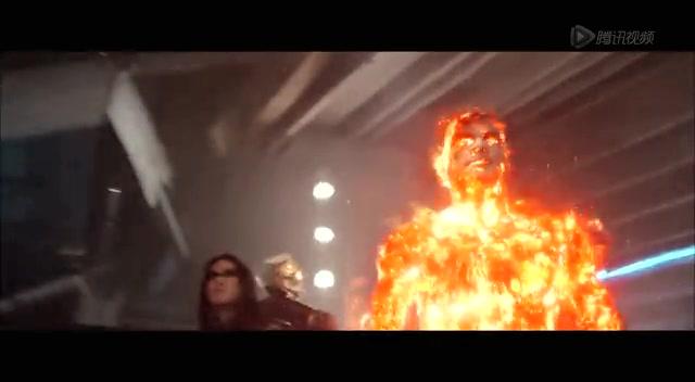《X战警》范冰冰空间穿越