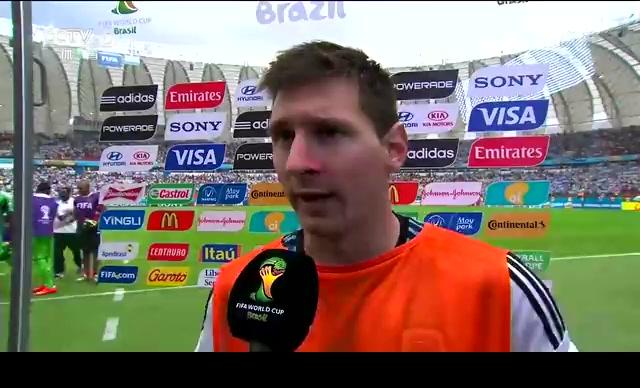 梅西:把胜利献给球迷 我们能做的更好截图