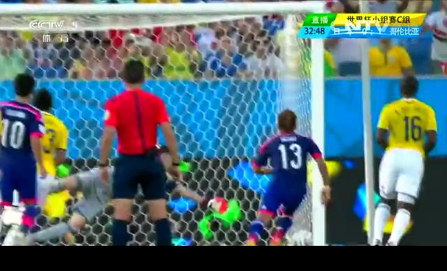 【日本集锦】日本1-4哥伦比亚 防守频失误截图