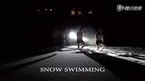 芬兰超奇葩运动 男子雪地裸泳冻掉小丁丁