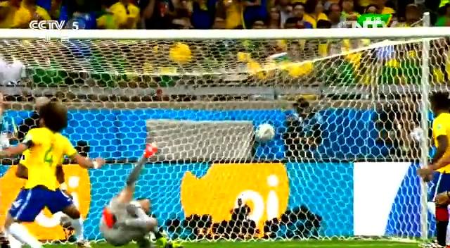复盘巴西VS德国:巴西后防线漏洞百出截图