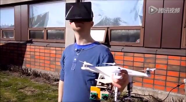 虚拟眼镜+飞行器:让自己飞起来!截图