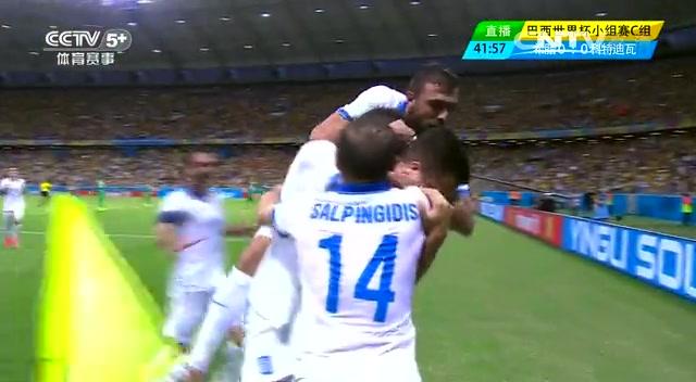 全场集锦:希腊2-1科特迪瓦 希腊点球绝杀出线截图