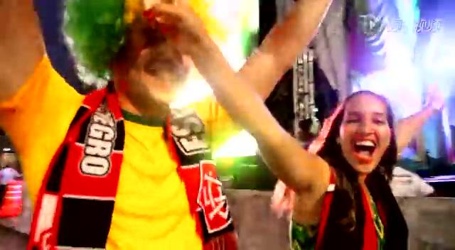 萨尔瓦多球迷欢庆世界杯开幕截图