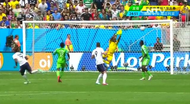 全场集锦:法国2-0尼日利亚 博格巴头槌破门截图
