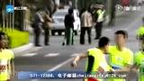 视频:西安长跑比赛 男子途中两次被打夺亚军