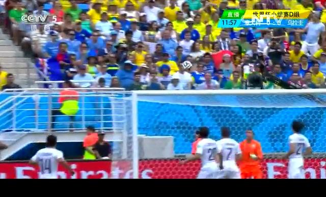 【乌拉圭集锦】意大利0-1乌拉圭 戈丁终破布冯十指关截图