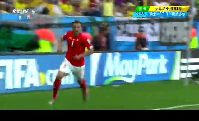 【射门】塞费罗维奇门前抢点 瑞士终场前绝杀截图