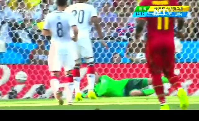 【加纳集锦】德国2-2加纳 阿尤头顶吉安脚踢平德国截图
