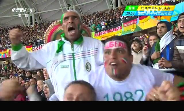 【欢庆】阿尔及利亚扳回一球 坚持到底赢得尊敬截图